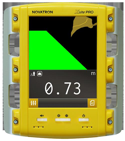 XSITE PRO 2D koneohjausjärjestelmä